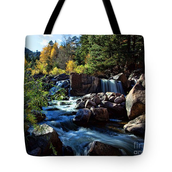 El Dorado Autumn Tote Bag by Jim Garrison
