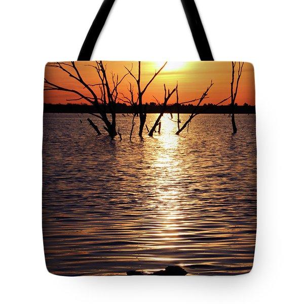 El Dorado Lake Morning Tote Bag