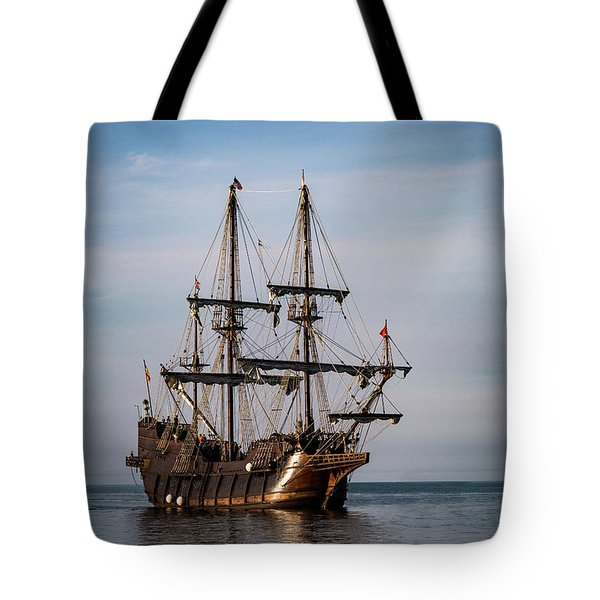 Tote Bag featuring the photograph El Galeon Andalucia by Dale Kincaid