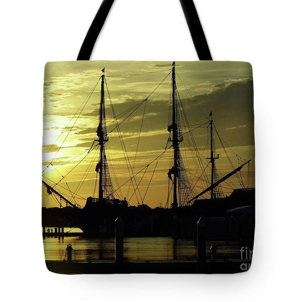 El Galeon Sunrise Tote Bag