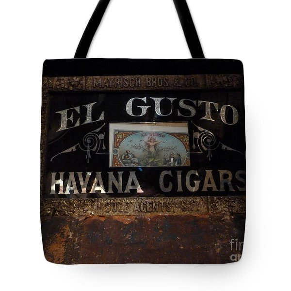 El Gusto Tote Bag by Newel Hunter