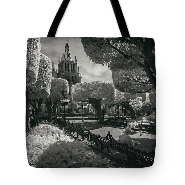 el Jardin Tote Bag by Sean Foster