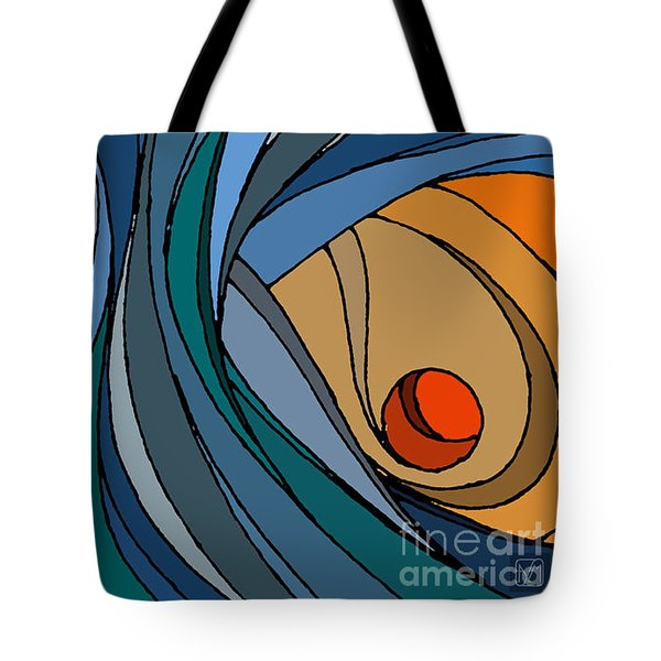el MariAbelon blue Tote Bag