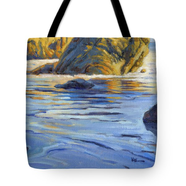 Pacific Reflections 2 Tote Bag