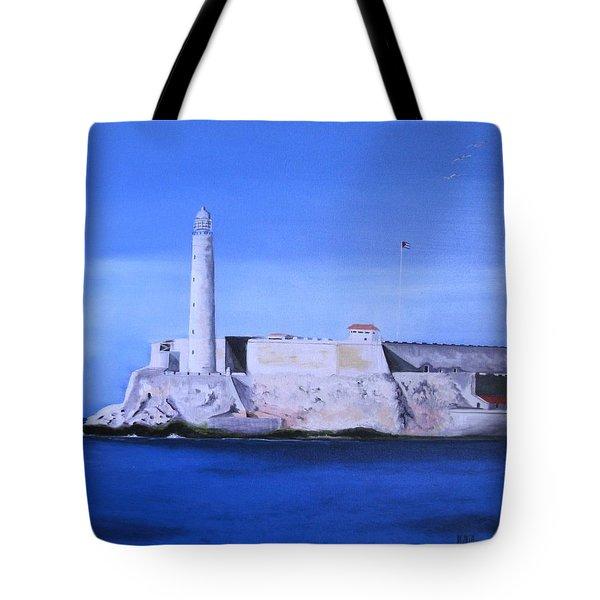 El Morro Havana Cuba Tote Bag