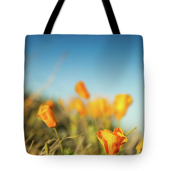 El Paso Poppies Tote Bag