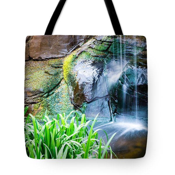 El Paso Zoo Waterfall Long Exposure Tote Bag