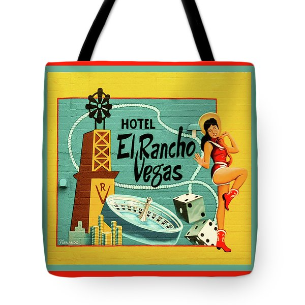 Tote Bag featuring the photograph El Rancho by Jeff Burgess