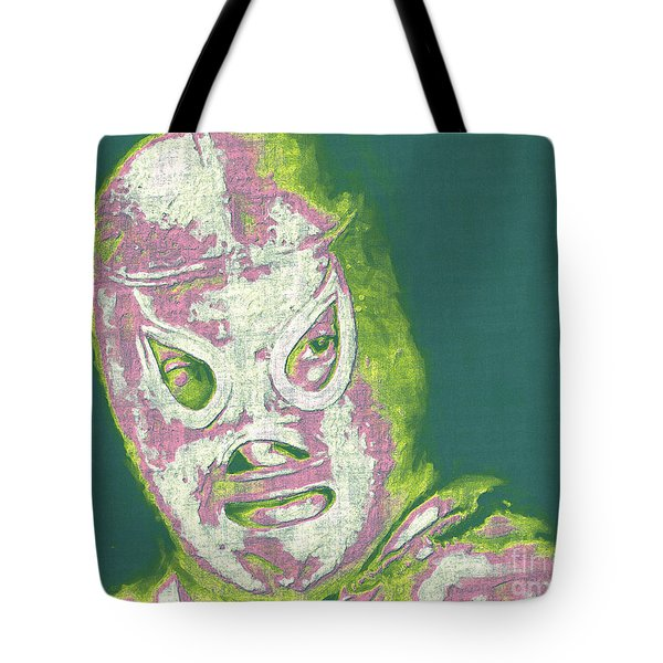 El Santo The Masked Wrestler 20130218v2m80 Tote Bag