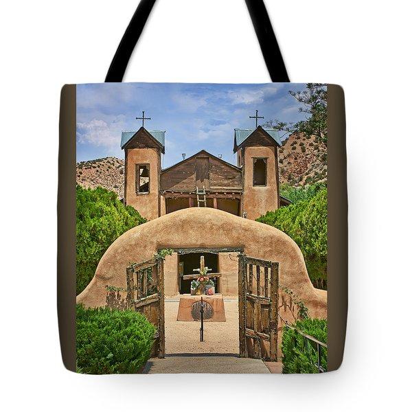 El Santuario De Chimayo #2 Tote Bag