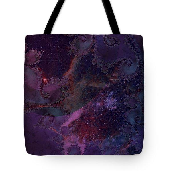 El Sendero Luminoso Tote Bag by Kenneth Armand Johnson