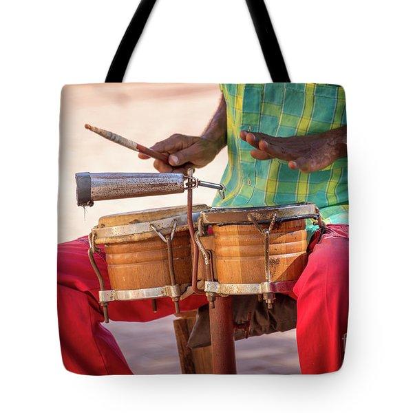 El Son De Cuba Tote Bag