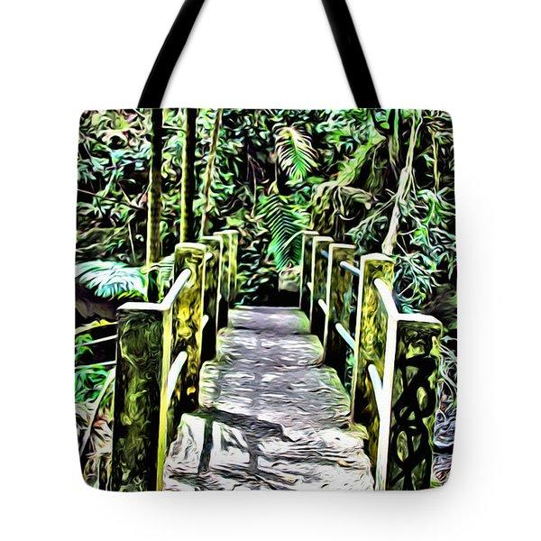 El Yunque Bridge Tote Bag