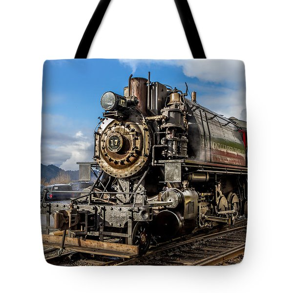 Elbe Steam Engine 17 - 2 Tote Bag