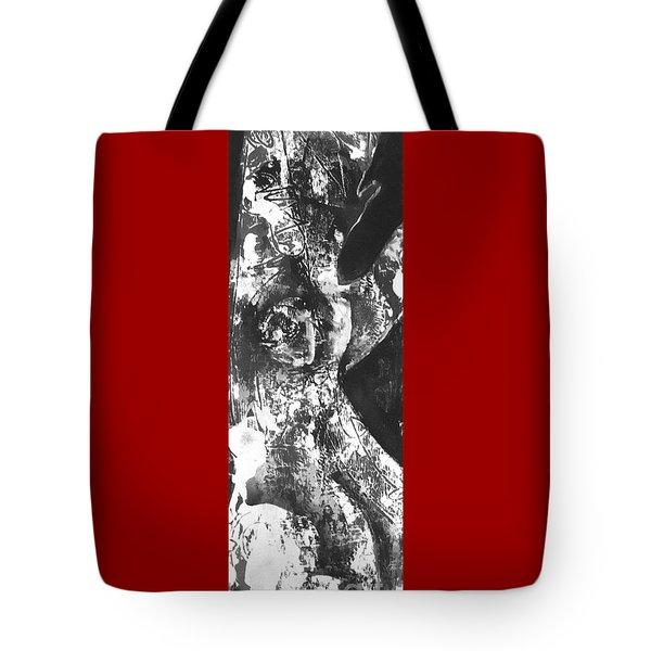 Tote Bag featuring the painting Elder by Carol Rashawnna Williams
