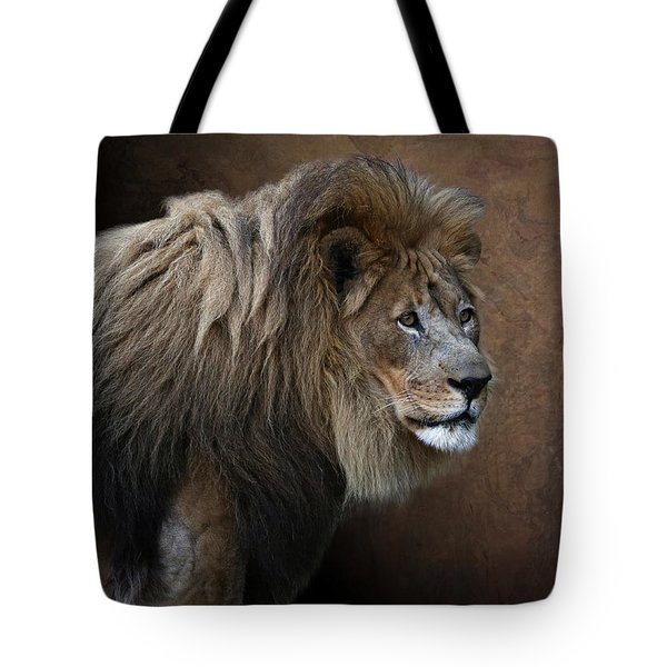 Elderly Gentleman Tote Bag