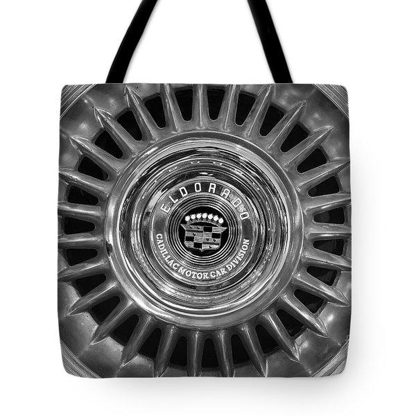 Tote Bag featuring the photograph Eldorado Monotone by Dennis Hedberg