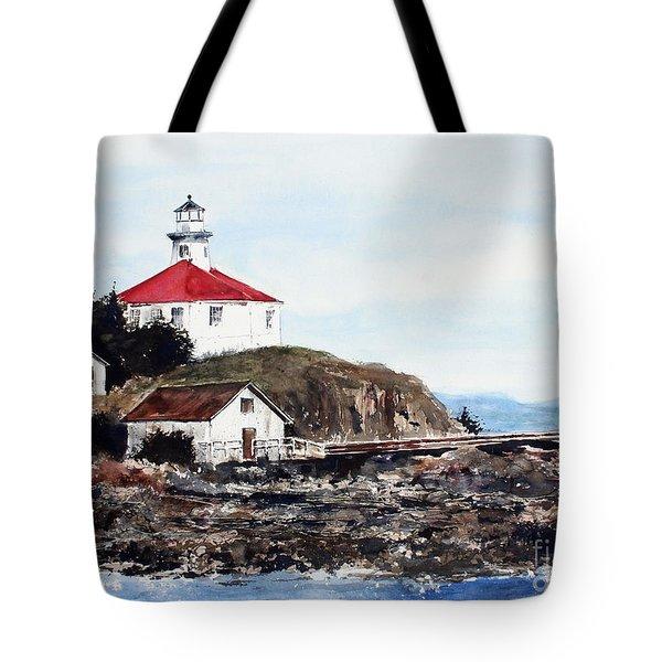 Eldred Rock Lighthouse Tote Bag