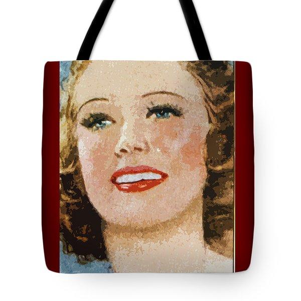 Eleanor Powell Tote Bag