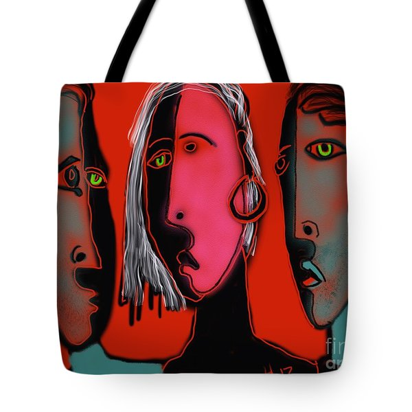 Election Reaction Tote Bag