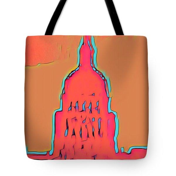 Electric Austin Tote Bag