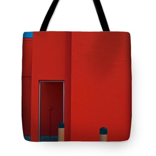 Electric Back Tote Bag