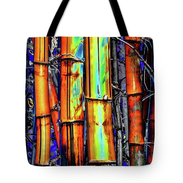 Electric Bamboo 3 Tote Bag