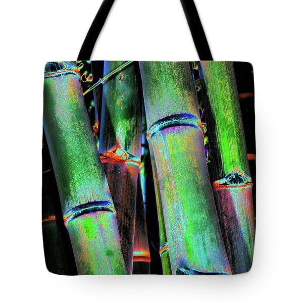 Electric Bamboo 4 Tote Bag