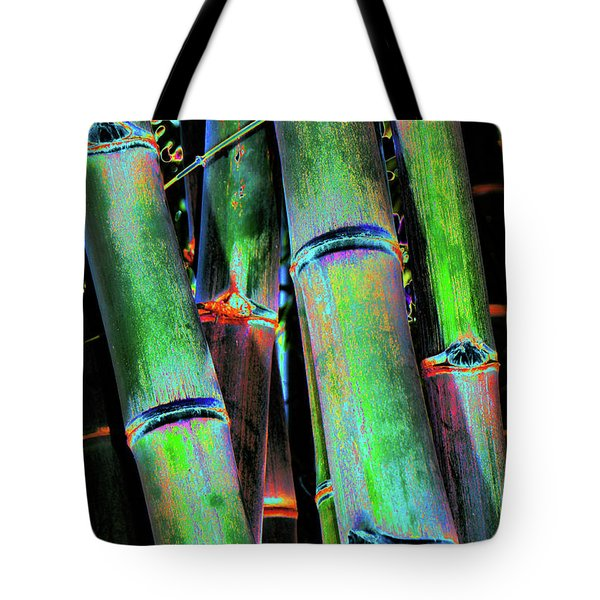 Electric Bamboo 4 Tote Bag
