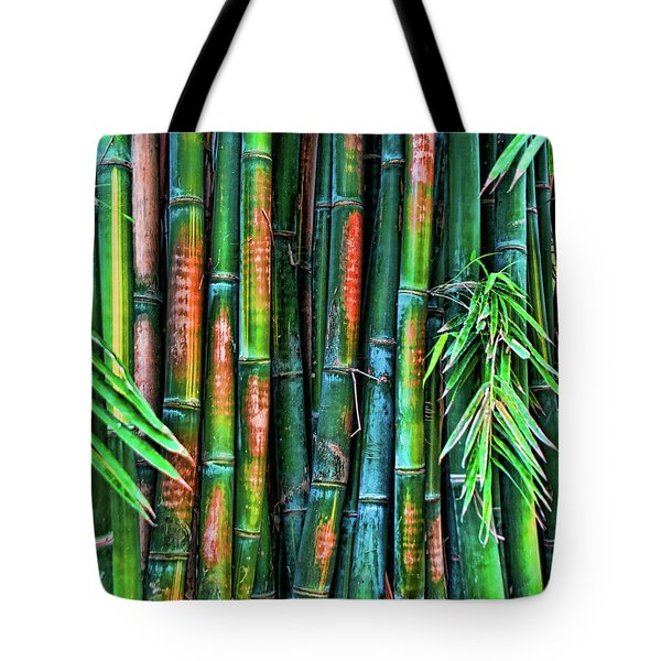 Electric Bamboo 6 Tote Bag
