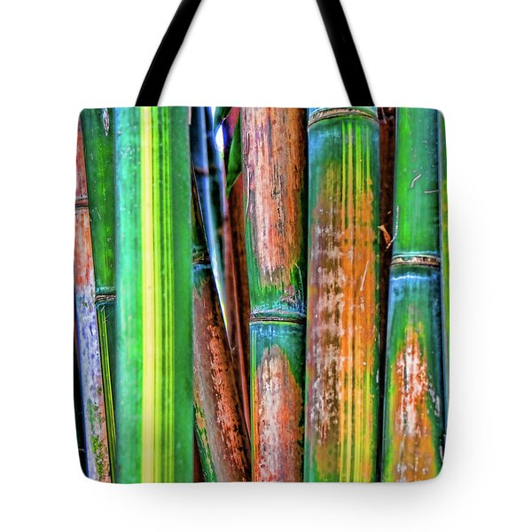Electric Bamboo 7 Tote Bag