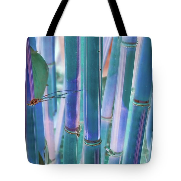 Electric Bamboo 8 Tote Bag