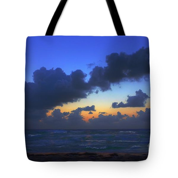Electric Blue 2 Tote Bag