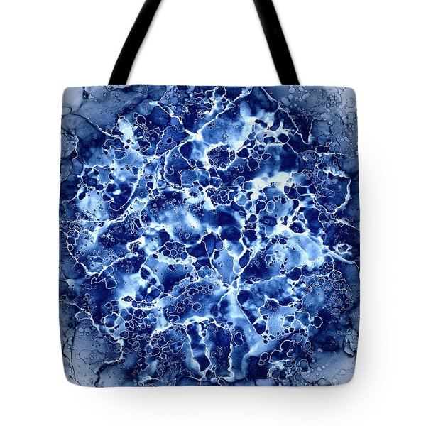 Abstract 1 Tote Bag by Patricia Lintner