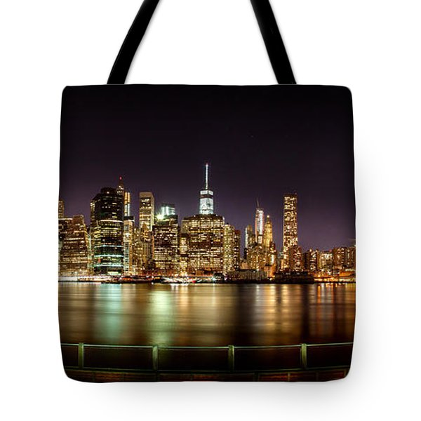 Electric City Tote Bag by Az Jackson
