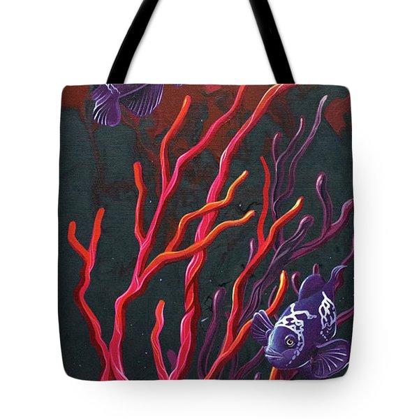Electric Clown Tote Bag