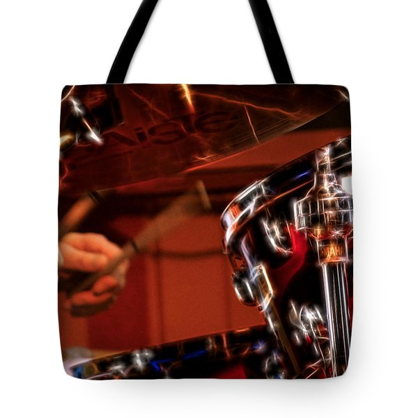 Electric Drums Tote Bag