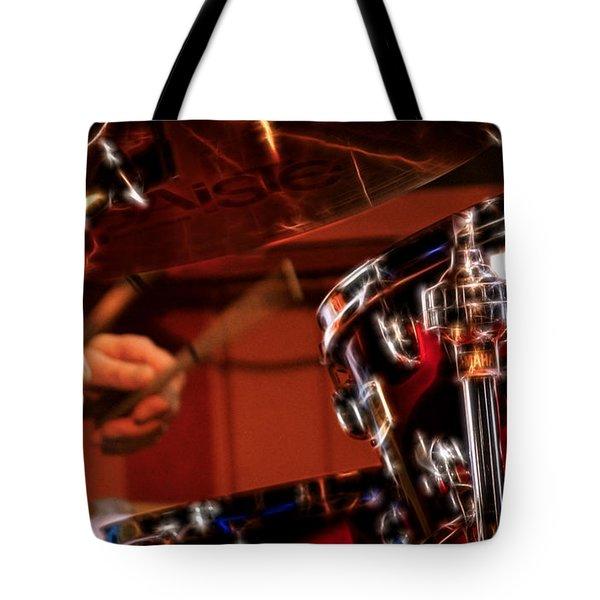 Electric Drums Tote Bag