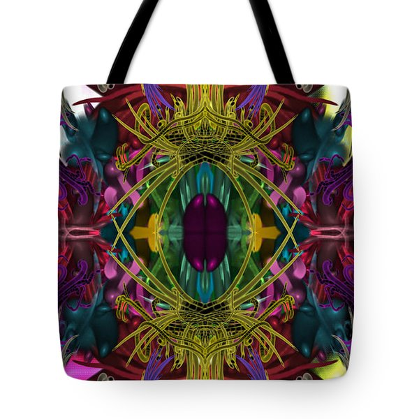 Electric Eye Tote Bag