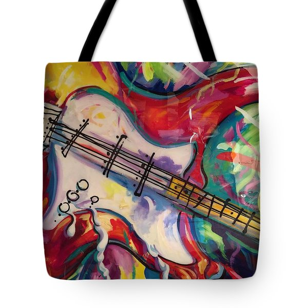 Electric Fusion  Tote Bag