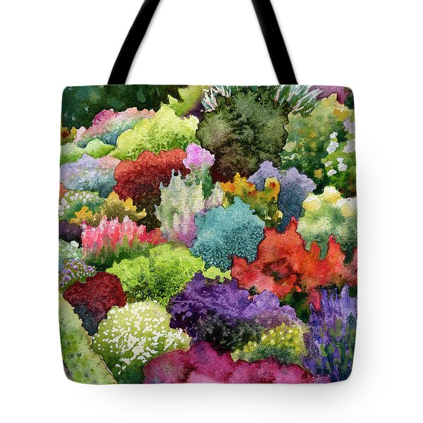 Electric Garden Tote Bag