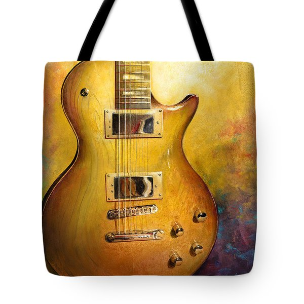 Electric Gold Tote Bag by Andrew King