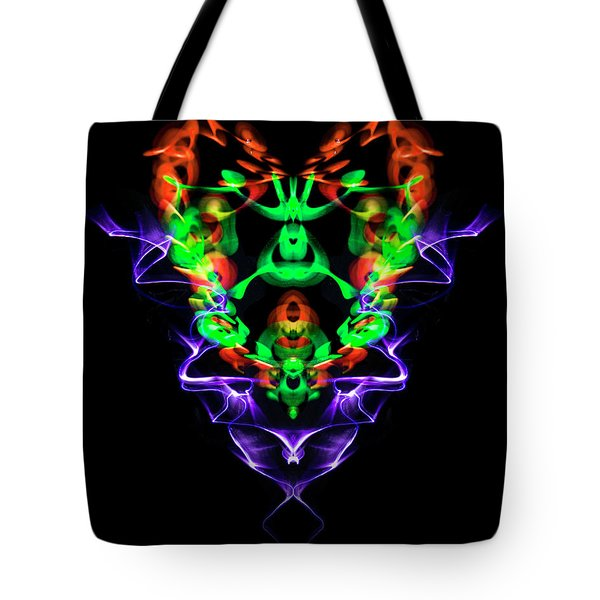Electric Heart Tote Bag