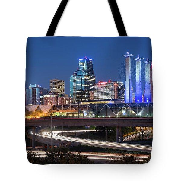 Electric Kc Tote Bag