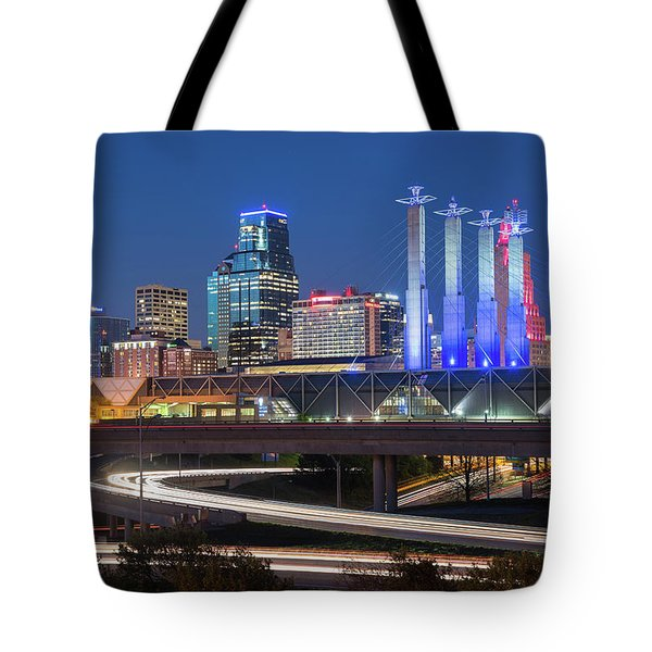 Electric Kc Tote Bag