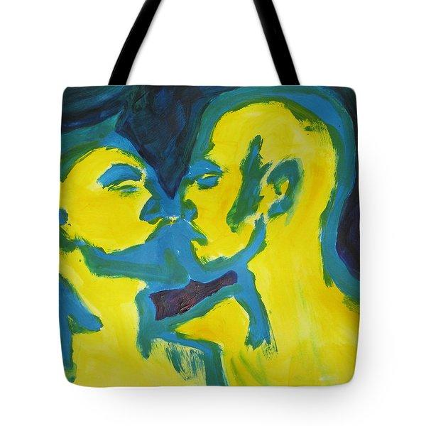 Electric Kiss Tote Bag