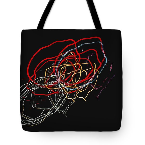 Electric Light Tote Bag by Steven Richardson