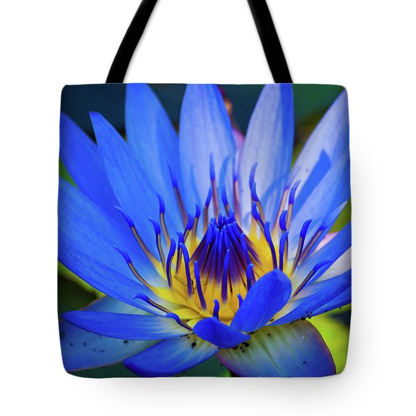 Electric Lily Tote Bag
