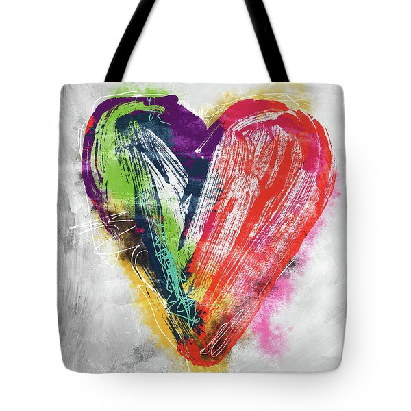 Electric Love- Expressionist Art By Linda Woods Tote Bag