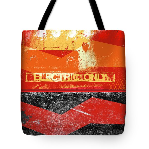 Electric Only Tote Bag
